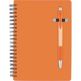 Monogrammed Pen-Buddy Notebook