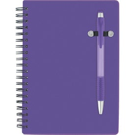 Advertising Pen-Buddy Notebook