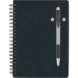 Monogrammed Pen-Buddy Notebook