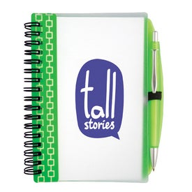 Pen Pal Nexus Design Notebook Printed with Your Logo