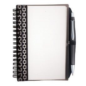 Imprinted Pen Pal Nexus Design Notebook