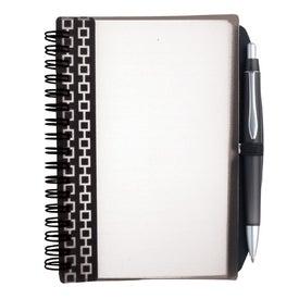 Imprinted Pen Pal Nexus Design Notebook