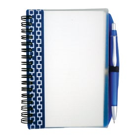Pen Pal Nexus Design Notebook Imprinted with Your Logo