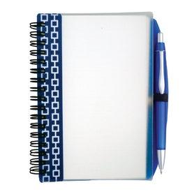 Pen Pal Nexus Design Notebook Imprinted with Your Logo