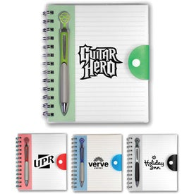 Pick-A-Pen Notebook