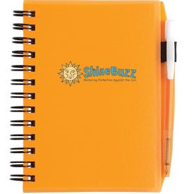 Promotional Plastic Cover Notebook