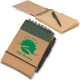 Printed Pocket Eco-Note Keeper