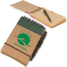Printed Pocket Eco-Note Keeper