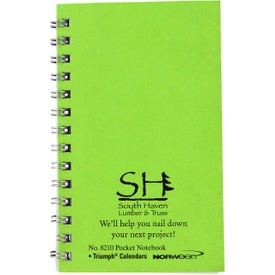 Pocket Notebooks with Your Logo