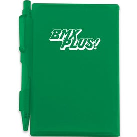 Pocket Notebook With Pen Printed with Your Logo
