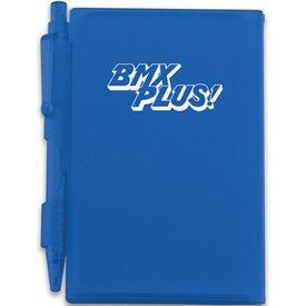 Custom Pocket Notebook With Pen