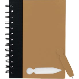 Pop And Write Notebook with Your Logo