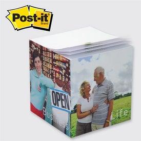 Custom Post-it Cube Pad