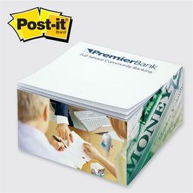 Customized Post-it Half Cube Pad