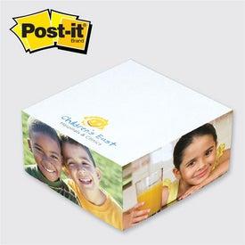 Branded Post-it Half Cube Pad