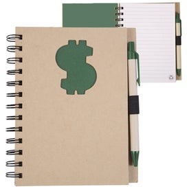 Custom Recycled Die Cut Notebook