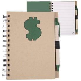 Custom Recycled Die Cut Notebook