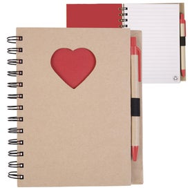 Recycled Die Cut Notebook for Your Church