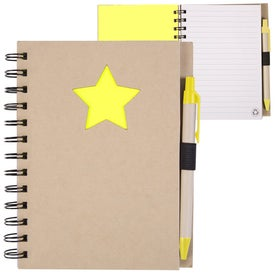 Promotional Recycled Die Cut Notebook