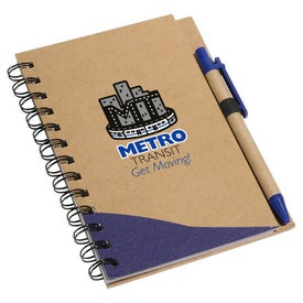Recycle Write Notebook And Pen for Promotion