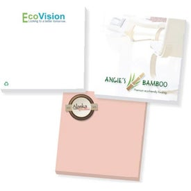 Branded Recycled Adhesive Notepads