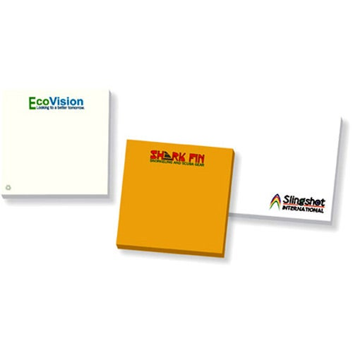 """BIC Recycled Adhesive Notepads (3"""" x 3"""" w/ 50 Sheets)"""