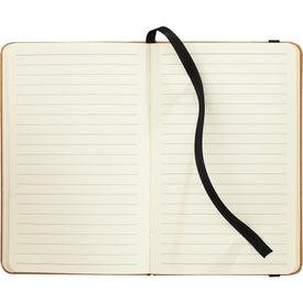 Recycled Ambassador Pocket Bound Journalbook Imprinted with Your Logo