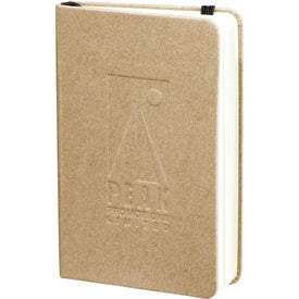 Monogrammed Recycled Ambassador Pocket Bound Journalbook