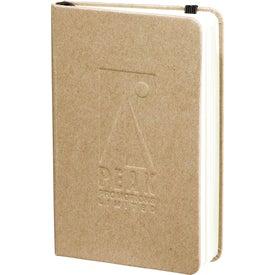 Monogrammed Recycled Ambassador Pocket Bound Journalbook