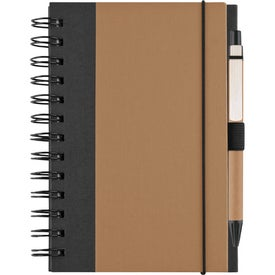 Customized Recycled Color Cover Spiral Notebook