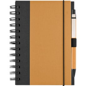 Recycled Color Cover Spiral Notebook for Customization
