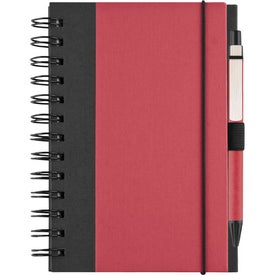 Recycled Color Cover Spiral Notebook for Promotion
