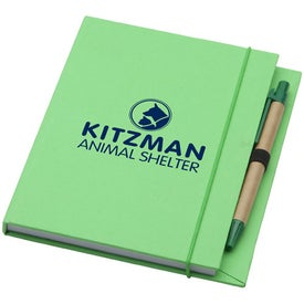 Recycled Desk Journal Branded with Your Logo