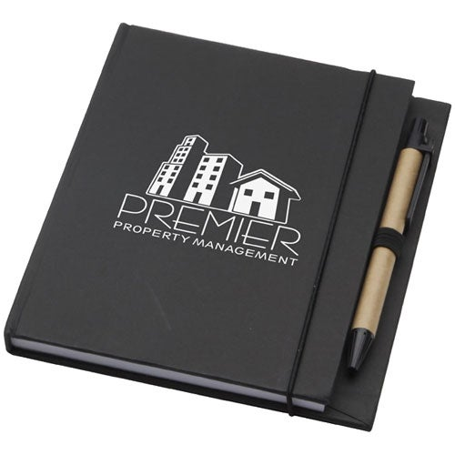 Black Recycled Desk Journal