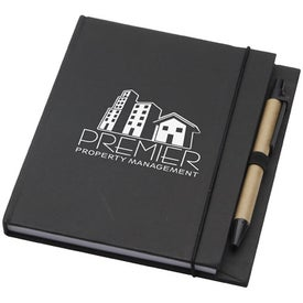 Recycled Desk Journal Imprinted with Your Logo