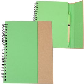 Recycled Magnetic Journalbook with Your Logo