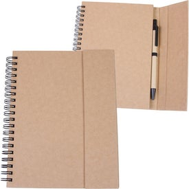 Recycled Magnetic Journalbook with Your Slogan