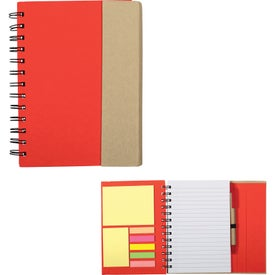 Recycled Magnetic Journalbook for Your Company