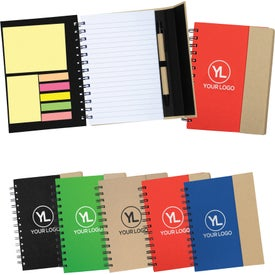 Recycled Magnetic Journalbook for Advertising