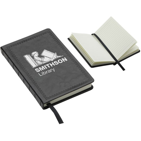 Black Recycled Midsize Journal