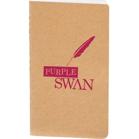 Recycled Mini Pocket Notebook Printed with Your Logo