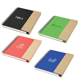 Recycled Notebook and Pen for Your Church