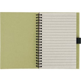 Recycled Notebook with Matching Paper Pen for Promotion