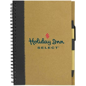 Recycled Paper Notebook for Marketing