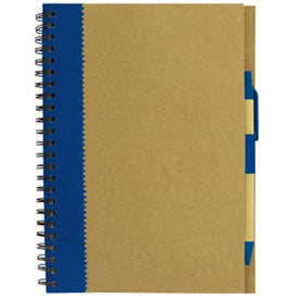 Recycled Paper Notebook Imprinted with Your Logo