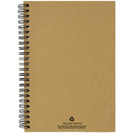 Branded Recycled Paper Notebook