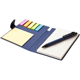 Promotional Recycled Pen Note and Flag Set