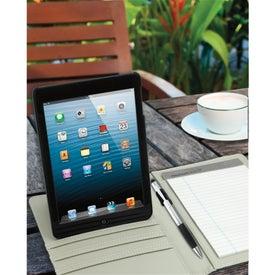 Logo Rotating Case Tech Padfolio for iPad Mini
