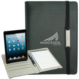 Customized Rotating Case Tech Padfolio for iPad Mini