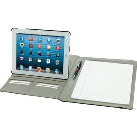 Customized Rotating Case Tech Padfolio for iPad
